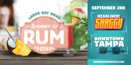 2-4-1 GA/Tasting Combo Tickets to Summer of Rum Festival 2017