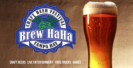 50% Off General Admission to Brew HaHa Tampa Bay Craft Beer Festival