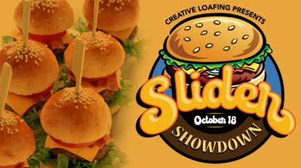 50% off General Admission to Creative Loafing's Slider Showdown