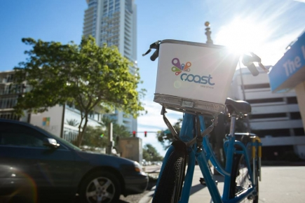 50% off Coast Bike Share Monthly Plus Package in Tampa and St. Pete