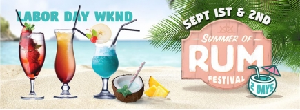 50% Off Two-Day General Admission to Summer of Rum Festival 2018