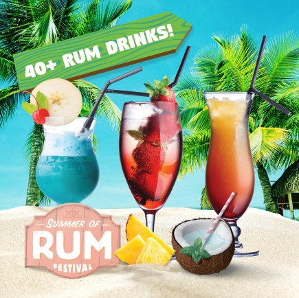 50% Off Two-Day General Admission + Tasting Combo at the Summer of Rum Festival 2018