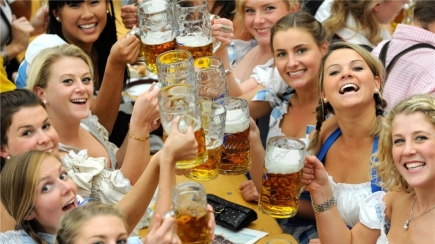 2-4-1 Tickets to the German American Society: 2018 Oktoberfest Plus Two Glasses of Imported German Beer + Two Pretzels