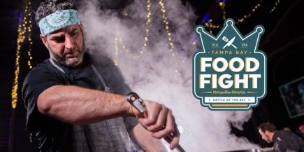 50% off Admission to Tampa Bay Food Fight