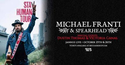 2-4-1 Tickets to Michael Franti & Spearhead at Jannus Live