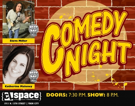 50% Off General Admission to Comedy Night at the CL Space on November 29, 2018