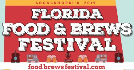 50% Off Two Day General Admission for Two to Florida Food and Brews Festival