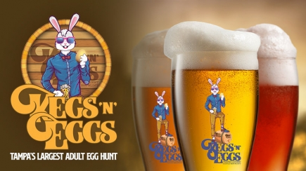 50% Off Admission to Kegs 'N' Eggs