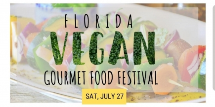 "50% Off Four Tickets to the Florida Vegan ""Gourmet"" Food Festival"