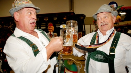 57% Off a Weekend Pass for Two to the German American Society: 2019 Oktoberfest to Include One Pitcher of Beer + Two Pretzels