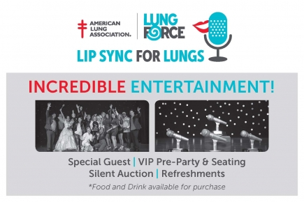 50% Off General Reserved Ticket to Lip Sync For Lungs at The Palladium