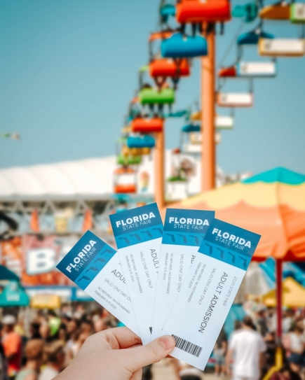 50% off Admission + Ride Armband at The 2020 Florida State Fair