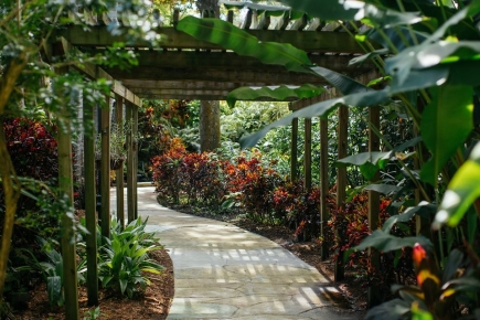 $50 for $100 Annual Family Membership at Sunken Gardens