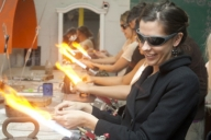 51% off Wine or Craft Beer Glass Making Session at Zen Glass Studio