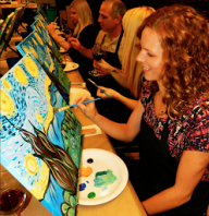 50% Off One 3-Hour Social Painting Class
