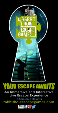 2-4-1 Reservations for Rabbit Hole Escape Games