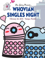 50% Off Deluxe General Admission to Whovian Singles Night Dr. Who Speed Dating Event