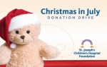 "$25 Donation to St. Joseph's Children's Hospital's 2016 ""Christmas in July"" Donation Drive"
